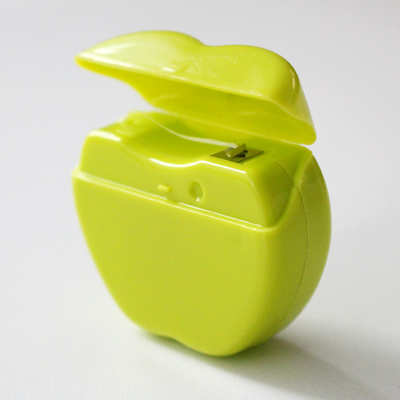 Apple Shaped Dental Floss