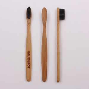 Kids Flat Handle Bamboo Toothbrush