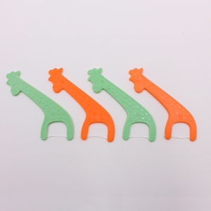 Cute Giraffe Animal Kids Dental Flossers