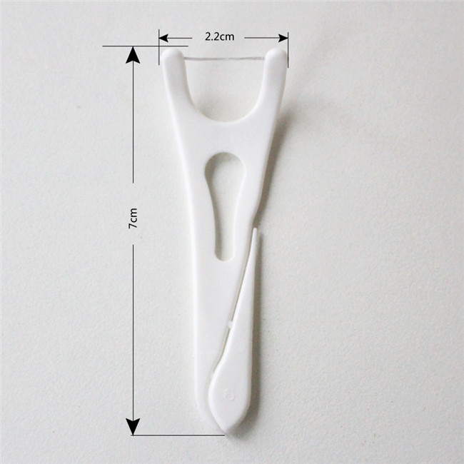 Adult Dental Flosser with Picks