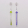 Transparent PE handle Adult Toothbrush