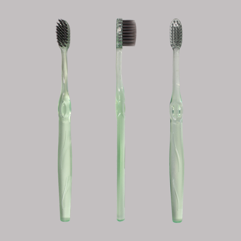 Charcoal Tapered Bristles Adult Toothbrush