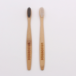 Flat Handle Bamboo Toothbrush